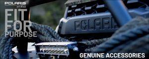Polaris off road genuine accessories